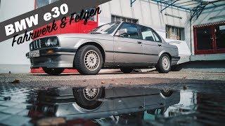 BMW E30 Tuning KW Fahrwerk, Felgen und eine Besonderheit