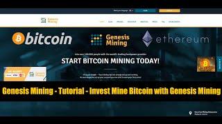 Genesis Mining - Tutorial Investing in Genesis Mining [HD] - ENGLISH