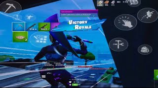 Crackest Mobile player you'll ever encounter...| Fortnite Mobile Player