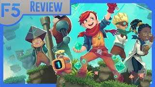 Sparklite Review: A Lightning-Paced Roguelite! (Video Game Video Review)