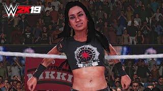 WWE 2K19 - AJ Lee Ingang, Handtekening, Finisher & Overwinning Scène! ( PC Mods )