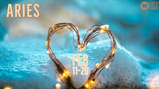 ARIES💖 FEB 11-20 Difficult turning points reveals your strength and true feelings!