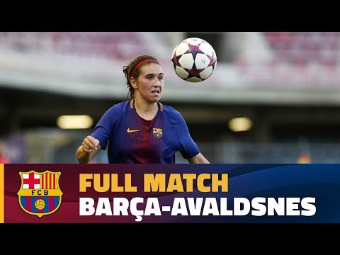 [FULL MATCH] UWCL: FC Barcelona - Avaldsnes (2-0)