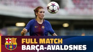 Partido correspondiente a la vuelta de los dieciseisavos uefa champions league femenina. ---- fc barcelona on social media subscribe to our official ch...