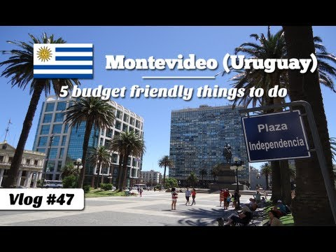 5 budget friendly things to do in Montevideo, Uruguay (Travel Video Blog 047)