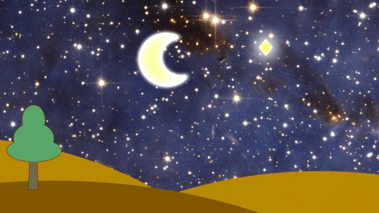 картинка звезды и луна