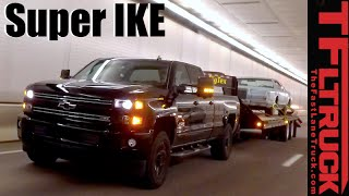 2016 Chevy Silverado 2500 HD Midnight Z71 Super Ike Gauntlet Towing Review