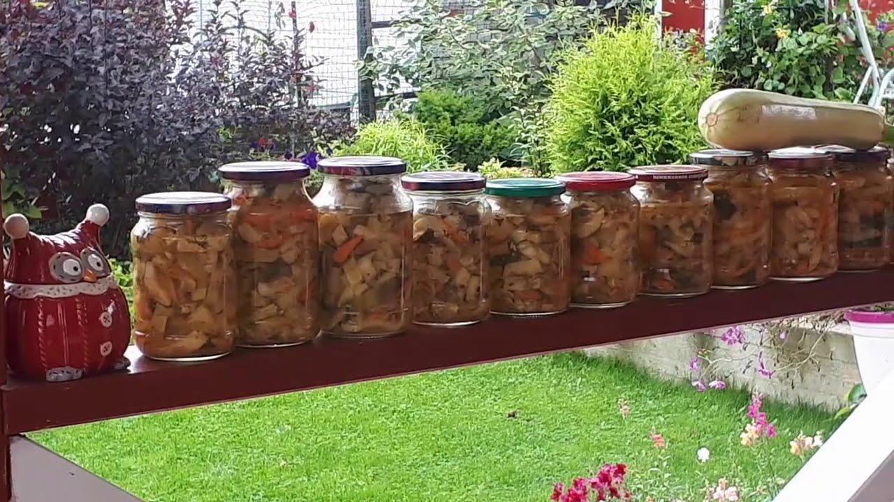 В саду утренний переполох ! Готовим салат Кабачки по корейски. ОЧЕНЬ вкусный салат на зиму!