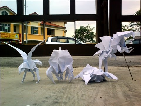 Origami Paper Monsters 2
