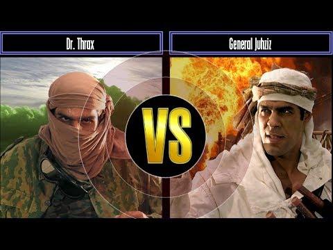 Pro:Gen Mod Challenge Mode Dr.Thrax VS General Juhziz