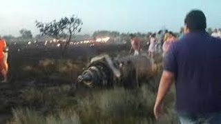 Complete Video Colombian Boeing 727 Aerosucre Cargo Aircraft Crashed 21/12/2016 Puerto Carreño