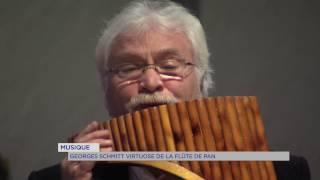 Musique : Georges Schmitt, virtuose de la flûte de pan