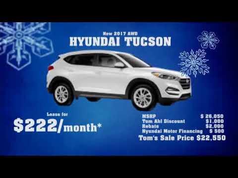 2017 Hyundai Tucson AWD Leasing Special | Lima Hyundai Dealer