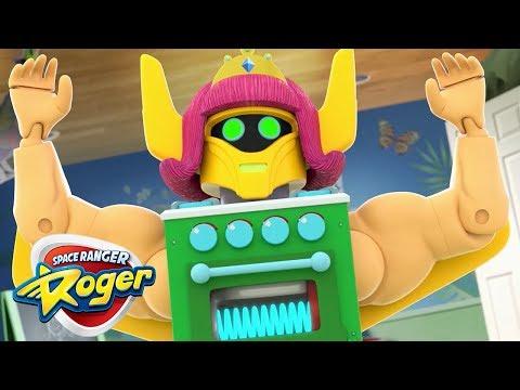 Space Ranger Roger | Roger vs The Giant...