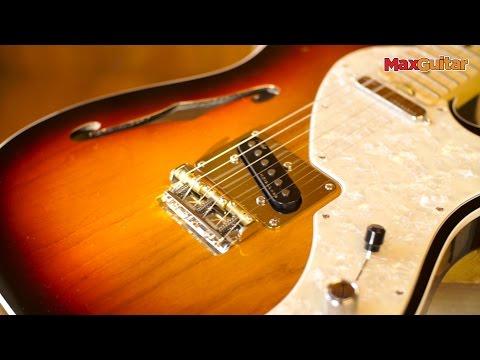 【硬地搖滾】免運免息!Fender American Elite Tele Thinline 楓木指板 冰藍色 電吉他
