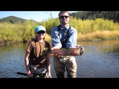 Black hills guided fly fishing trips youtube for Black hills fly fishing