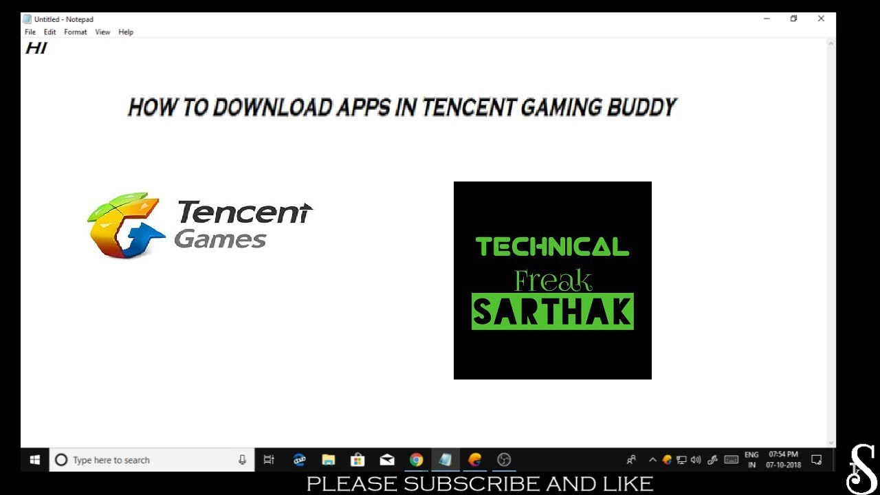 How to download and Install Apps and Games in Tencent Gaming Buddy