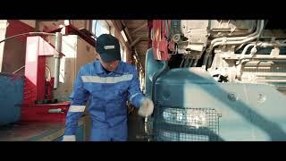 Замена масла на грузовых автомобилях на СТО