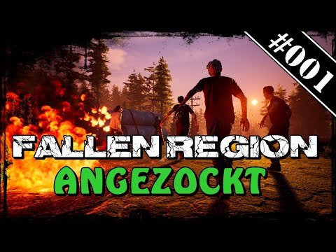 Fallen Region #001🧟‍♂️ Erster Eindruck 🧟‍♂️ | Deutsch German Gameplay Review |