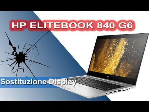 HP ELITEBOOK 840 G6 Sostituzione display - Display Replacement