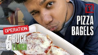 The Best Cheap Pizza Bagel in NYC