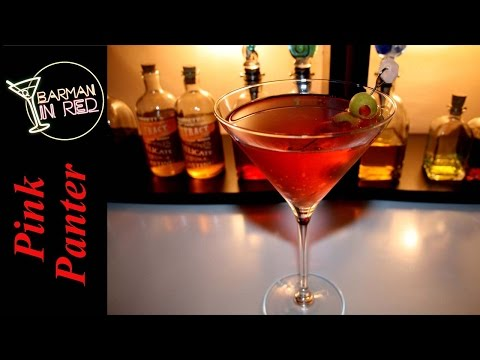 Vodka Cocktails - Martini Pink Panter