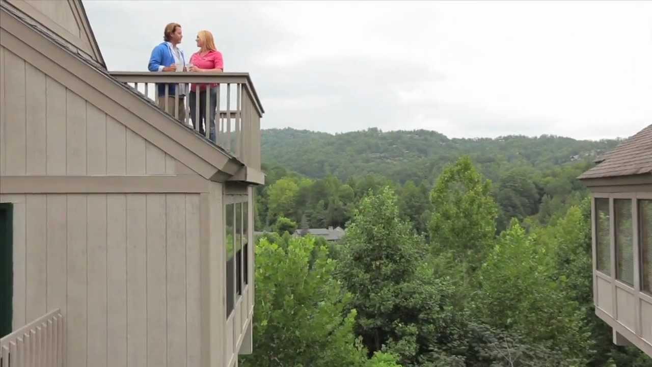 Mountainloft In The Smoky Mountains Tn Youtube