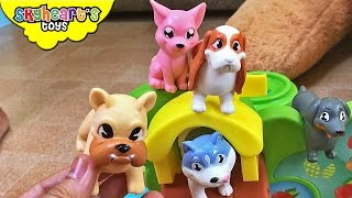 PUPPY TOYS Playground - Super Duper Doggies Pooch Park for kids dogs and animals children