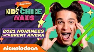 Brent Rivera Announces The KCA 2021 Nominees!   Kids' Choice Awards