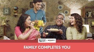 FilterCopy | Family Completes You | Ft. Deepika Amin, Anud Singh Dhaka, Ritika and Ivan