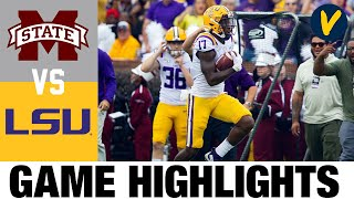 Mississippi State vs #6 LSU Highlights | Week 4 College Football Highlights | 2020 College Football