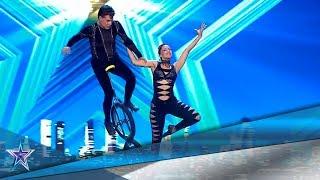 Estos CUBANOS ejecutan un PELIGROSO número de CIRCO | Audiciones 6 | Got Talent España 5 (2019)