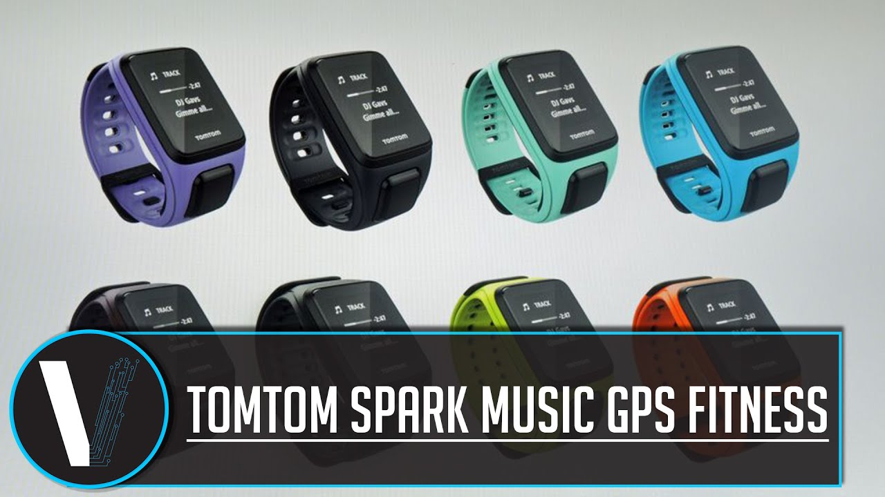 TomTom Spark Music GPS Fitness Watch - YouTube