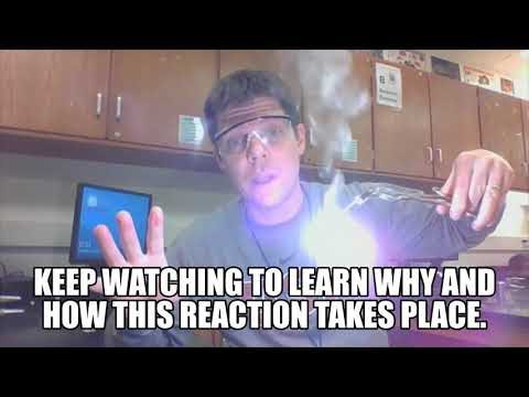 Explaining The Reaction Of Magnesium + Oxygen - Mr Pauller