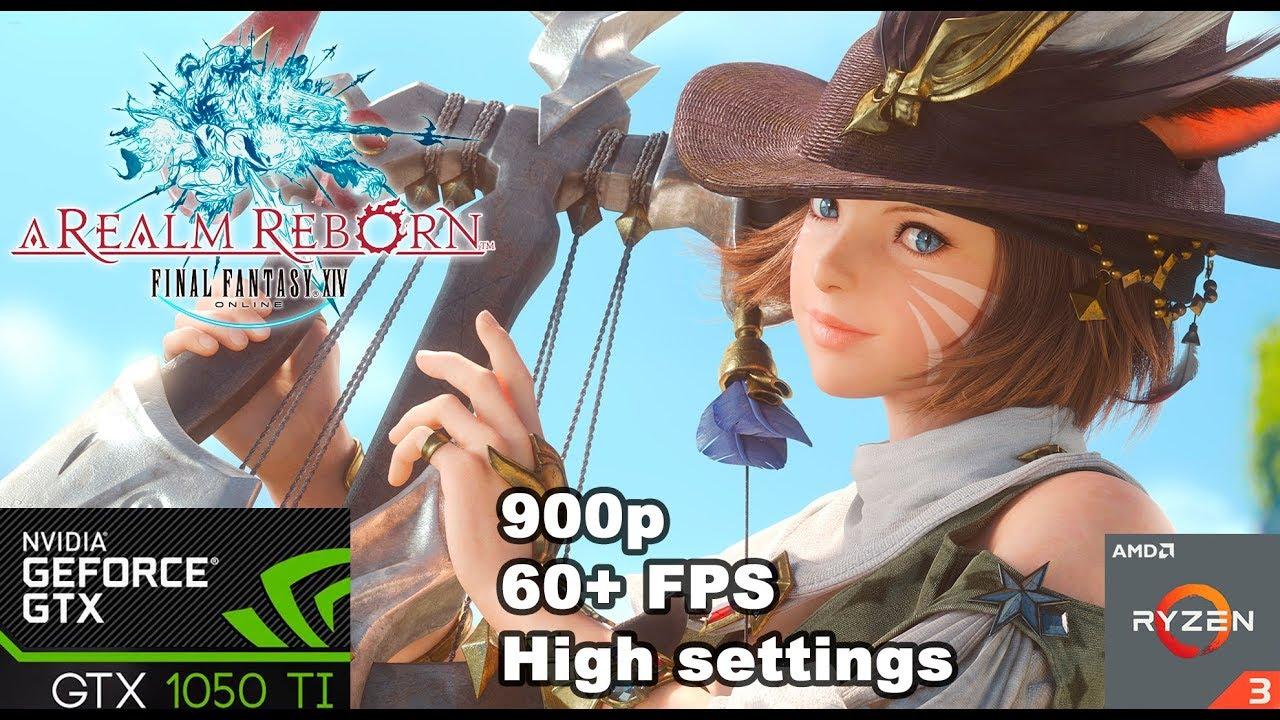 Final Fantasy XIV: A Realm Reborn - GTX 1050 Ti + Ryzen 3 1200 by Osvaldo  Estrada