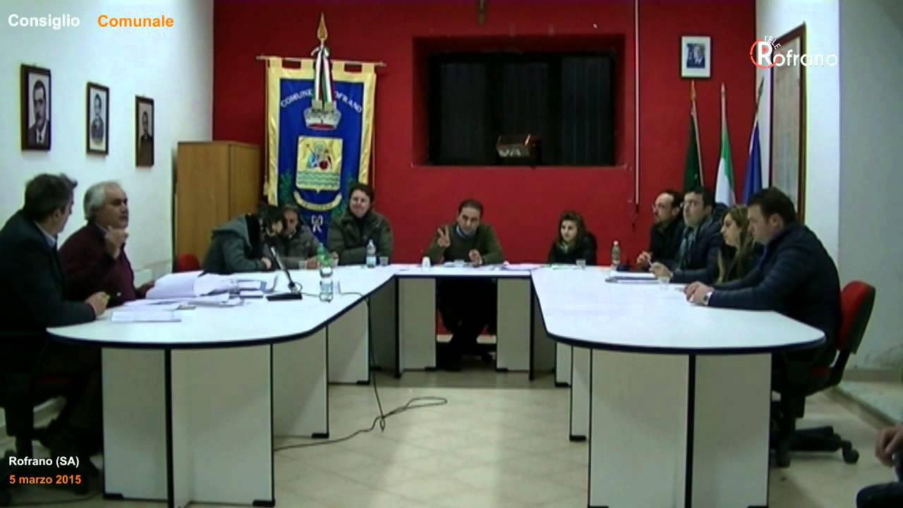 consiglio comunale 5 marzo 2015