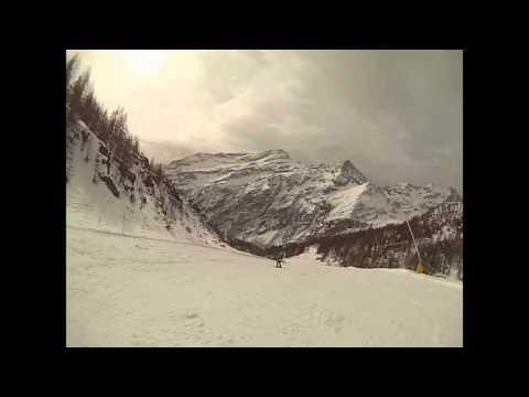 Alagna freeride paradise monterosa sky