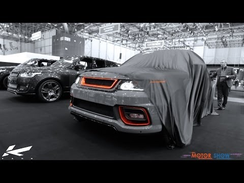 Kahn TV: Kahn Design at the 84th Geneva Motor Show 2014