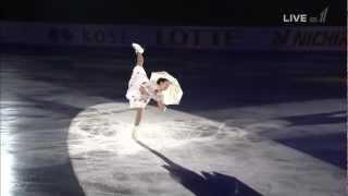 浅田真央 NHK杯 EX メリーポピンズメドレー