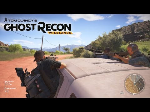 GHOST RECON WILDLANDS GAMEPLAY - (Tom Clancy)