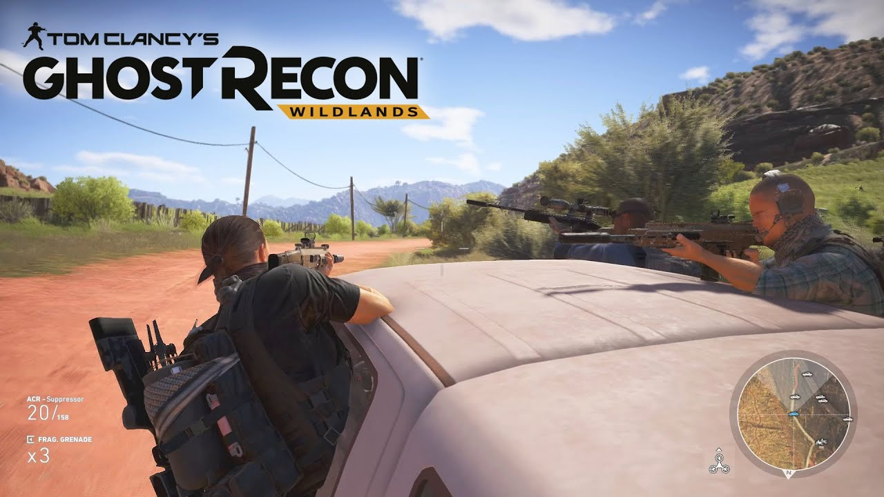 Tom Clancy's Ghost Recon Wildlands Redeem Code Free