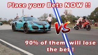 TechArt GTStreet R VS BMW S1000 RR   Result is SHOCKING !!