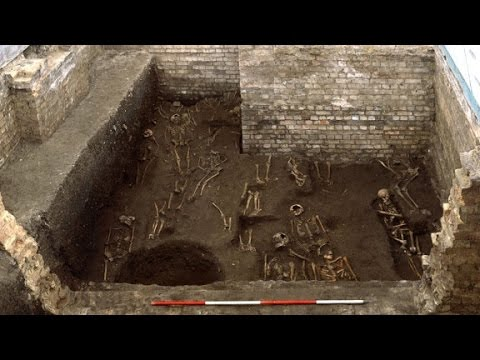 Mass grave unearthed under university