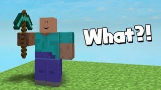 MINECRAFT... but it's in ROBLOX