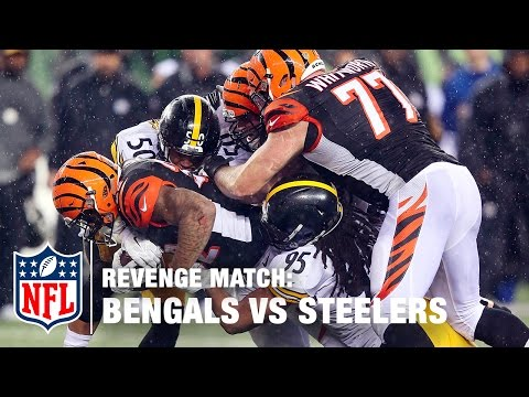 Bengals vs. Steelers: 2015 Wild Card | Revenge Match | NFL Now