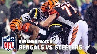 Bengals vs. Steelers: 2015 Wild Card | Revenge Match | NFL Now