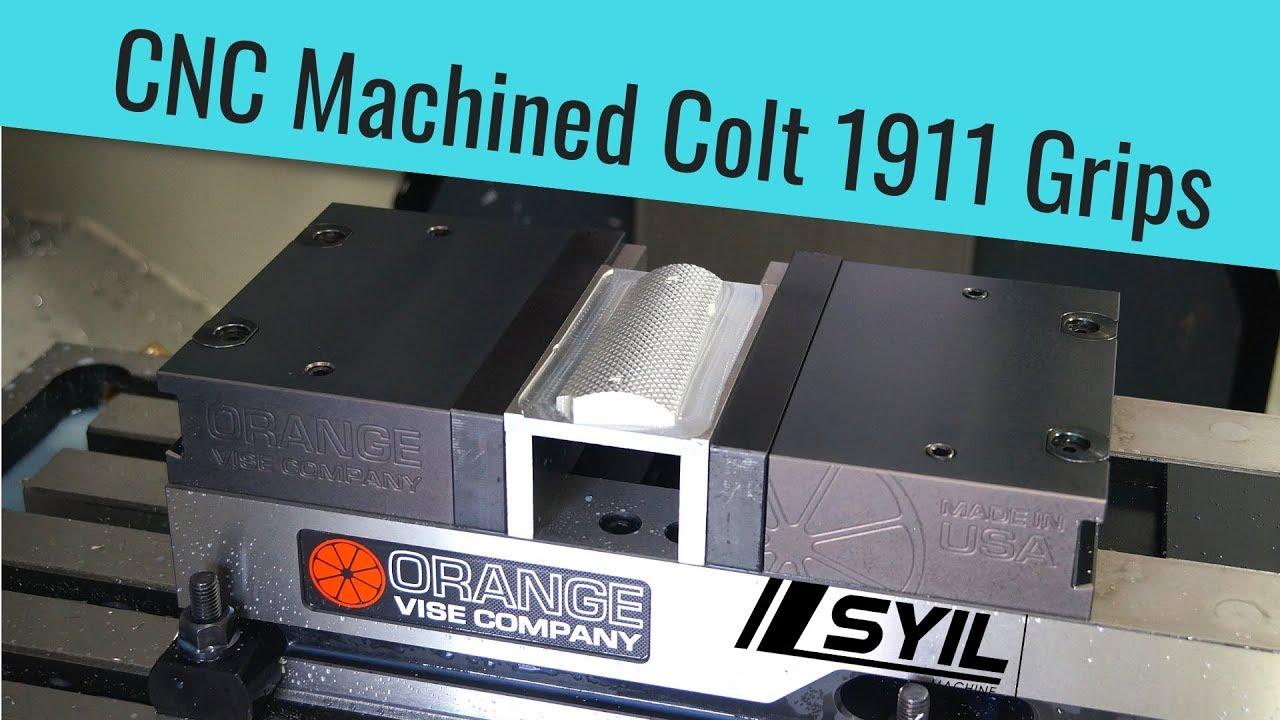 SyilCNC X7 3D Machining - Colt 1911 Grips
