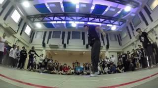 Tri Uni 2v2 Hip Hop | Audition Round 1: Free Flow VS SHY