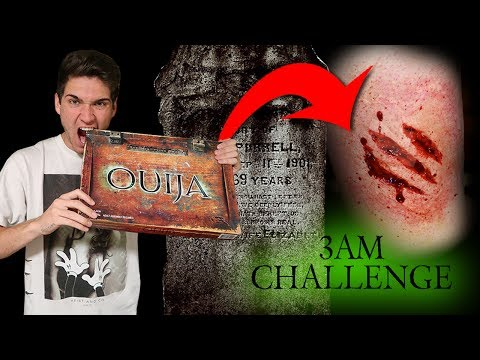 Thumbnail: BREAKING ALL THE RULES OF THE OUIJA BOARD IN A CEMETERY // 3AM CHALLENGE OUIJA BOARD GONE WRONG!