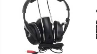 Detail Sennheiser RS120 On-Ear 926MHz Wireless RF Headphones with Charging Cradle with mic